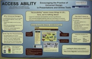 University of Illinois-Champaign Urbana - poster session on access